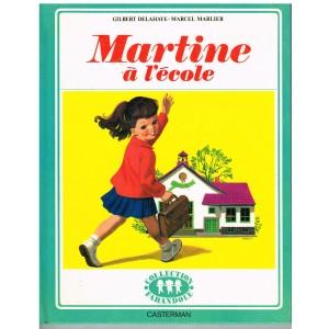 LIVRE : MARTINE A L'ECOLE