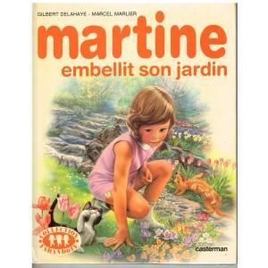 LIVRE : MARTINE EMBELLIT SON JARDIN