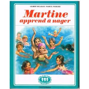 LIVRE : MARTINE APPREND A NAGER