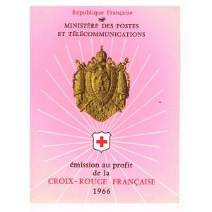 CARNET CROIX ROUGE 1966 NEUF