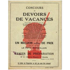 CAHIER CONCOURS DE DEVOIRS DE VACANCES - CAHIER DE PREPARATION N° 6