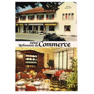CP40 - BISCAROSSE - HOTEL DU COMMERCE