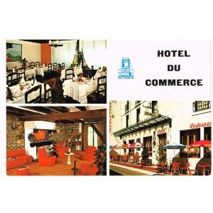 CP88 PLOMBIERES-LES-BAINS - HOTEL DU COMMERCE