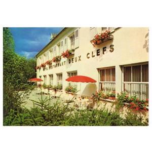 CP68 BIESHEIM - HOTEL RESTAURANT AUX DEUX CLEFS