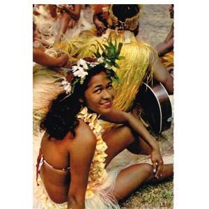 CP987 - TAHITI - DANSEUSE TAHITIENNE