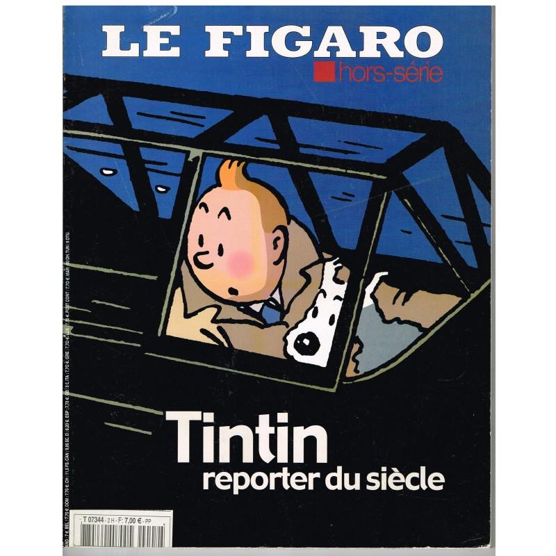 LIVRE TINTIN REPORTER DU SIECLE - LE FIGARO HORS SERIE