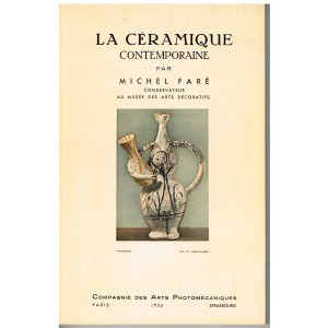 LIVRE D'ART : LA CERAMIQUE CONTEMPORAINE par MICHEL FARE