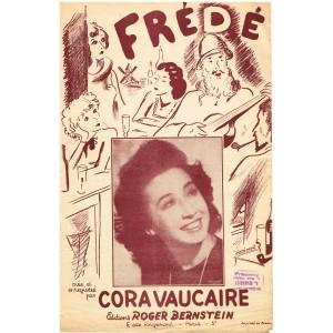 PARTITION DE CORA VAUCAIRE - FREDE