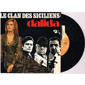 DISQUE 45 TOURS 17 cm EP - BIEM.   DALIDA - LE CLAN DES SICILIENS