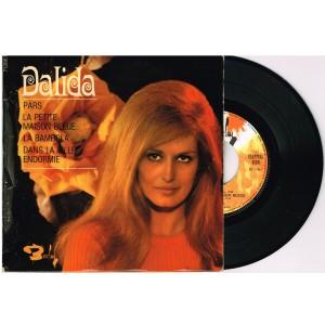 DISQUE 45 TOURS 17 cm EP - BIEM -.DALIDA - PARS