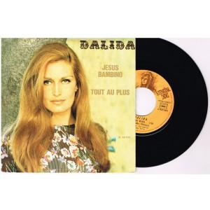 DISQUE 45 TOURS 17 cm EP - BIEM - DALIDA - JESUS BAMBINO