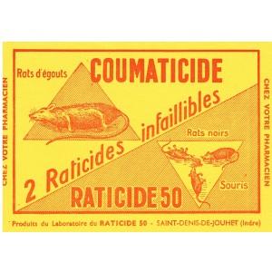 BUVARD COUMATICIDE - RATICIDE 50