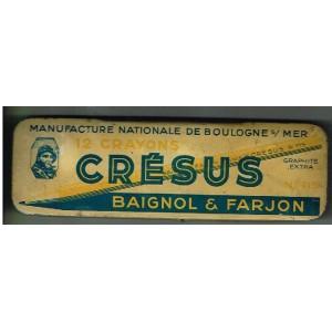 BOITE CRESUS - BAIGNOL & FARGEON