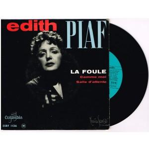 DISQUE 45 TOURS BIEM 17 cm LP EDITH PIAF