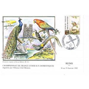 CHAMPIONNAT DE FRANCE D'ORNITHOLOGIQUE - CACHET TEMPORAIRE
