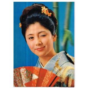 CARTE POSTALE LENTICULAIRE UN CLIN D'OEIL DU JAPON