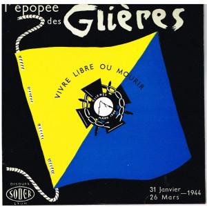 DISQUE 45 TOURS BIEM LP - L'EPOPEE DES GLIERES