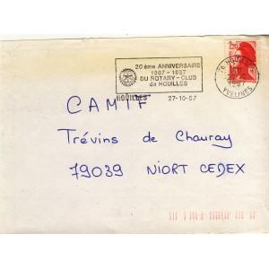 20eme-anniversaire-1967-1987-du-rotary-club-de-houilles-flamme-temporaire