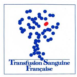 AUTOCOLLANT TRANSFUSION SANGUINE FRANCAISE