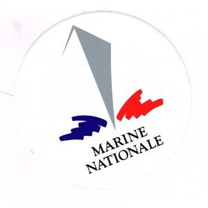 AUTOCOLLANT MARINE NATIONALE