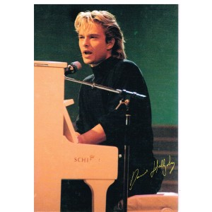 CARTE POSTALE DAVID HALLYDAY C14