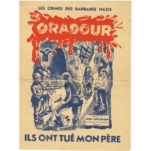 PARTITION - ORADOUR - PAROLES DE LEON DEPLANQUE