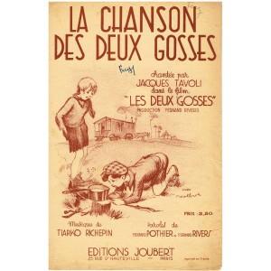 PARTITION - LA CHANSON DES DEUX GOSSES