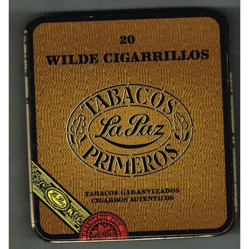 Boite metal vide de 20 cigares wilde cigarillos - Boite a the metal vide ...