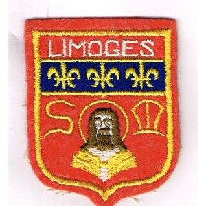 ECUSSON BRODE VILLE DE LIMOGES