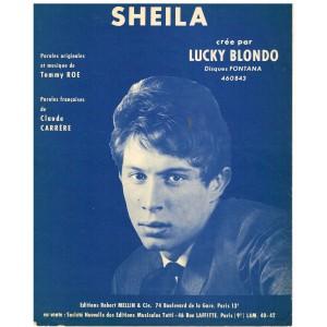 PARTITION DE LUCKY BLONDO - SHEILA