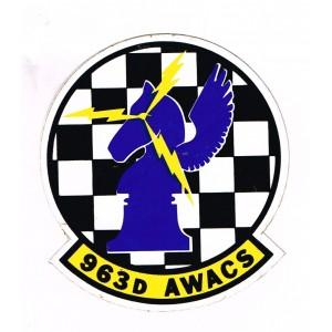AUTOCOLLANT 963 D AWACS