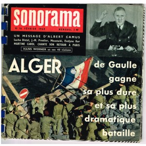 MAGAZINE SONORE SONORAMA N° 16 - FEVRIER 1960
