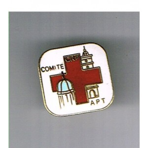 PIN'S CROIX ROUGE - COMITE CRF APT