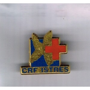 PIN'S CROIX ROUGE - CRF ISTRES