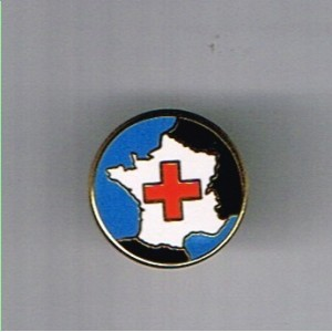 PIN'S CROIX ROUGE FRANCAISE