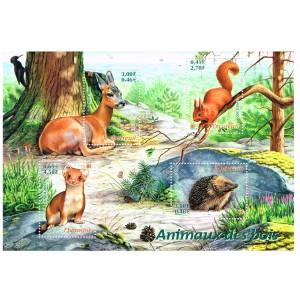 BLOC N° 36 ANIMAUX DES BOIS - 2001