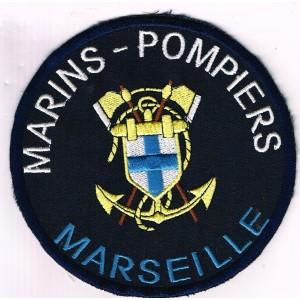 ECUSSON BRODE MARINS POMPIERS DE MARSEILLE