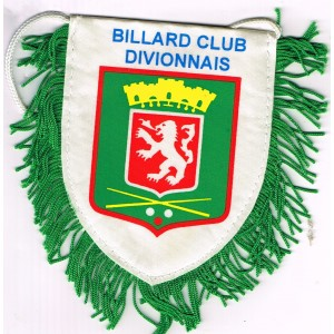 FANION BILLARD CLUB DIVIONNAIS