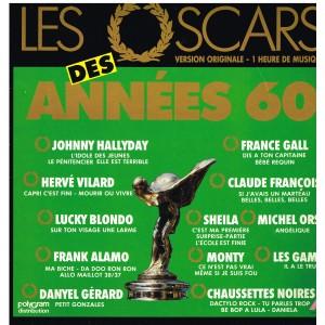 DISQUE 33 TOURS - LES OSCARS DES  ANNEES 60 - VERSION ORIGINALE