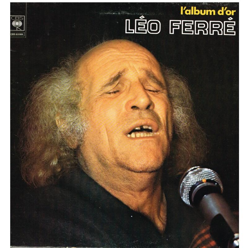 DISQUE 33 TOURS LEO FERRE - L'ALBUM D'OR