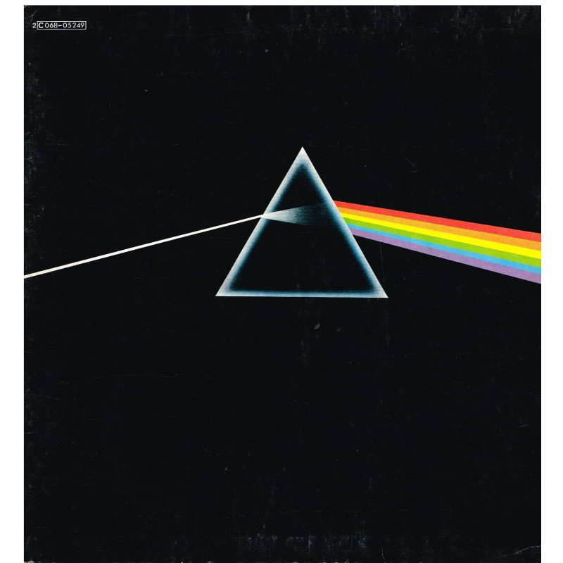 DISQUE 33 TOURS - PINK FLOYD - THE DARK SIDE OF THE MOON