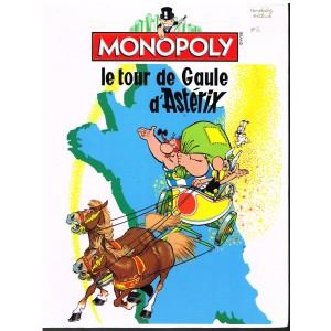 COFFRET JEU MONOPOLY - LE TOUR DE GAULE D'ASTERIX