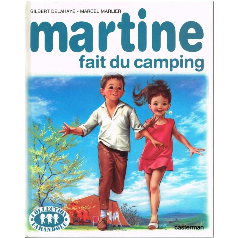 LIVRE : MARTINE FAIT DU CAMPING