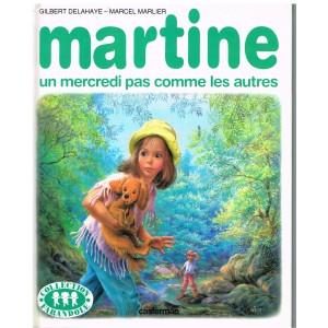 LIVRE : MARTINE - UN MERCREDI PAS COMME LES AUTRES