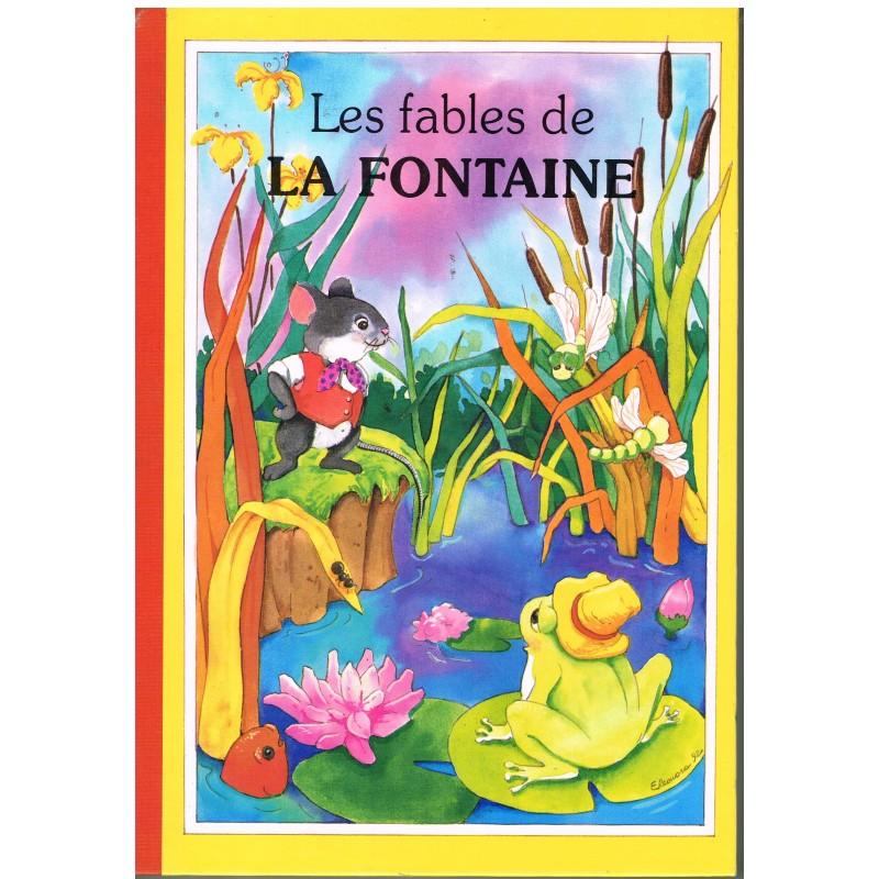 LIVRE : LES FABLES DE LA FONTAINE ILLUSTRE.