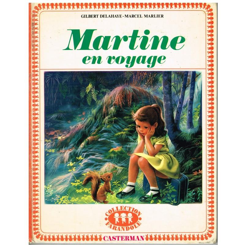 LIVRE : MARTINE EN VOYAGE - BORDURE ROUGE