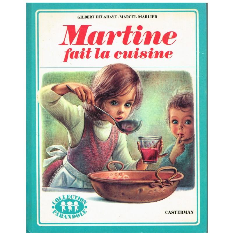 LIVRE : MARTINE FAIT LA CUISINE - BORDURE VERTE