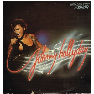 DISQUE 33 TOURS  JOHNNY HALLYDAY DOUBLE ALBUM 20 TITRES AU ZENITH