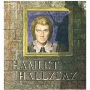 DISQUE 33 TOURS  JOHNNY HALLYDAY DOUBLE ALBUM HAMLET HALLYDAY