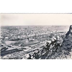 cp50-cherbourg-les-deux-bassins-vus-de-la-montagne-du-roule